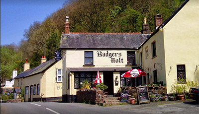 badgers holt inn